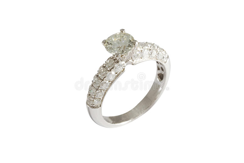 Diamond Ring fotografia stock libera da diritti