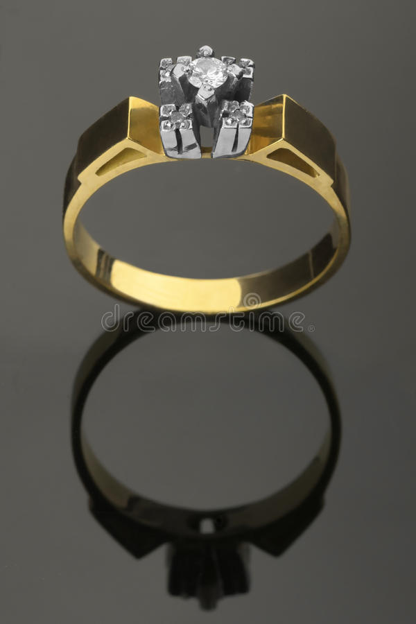 Diamond Ring fotografia stock