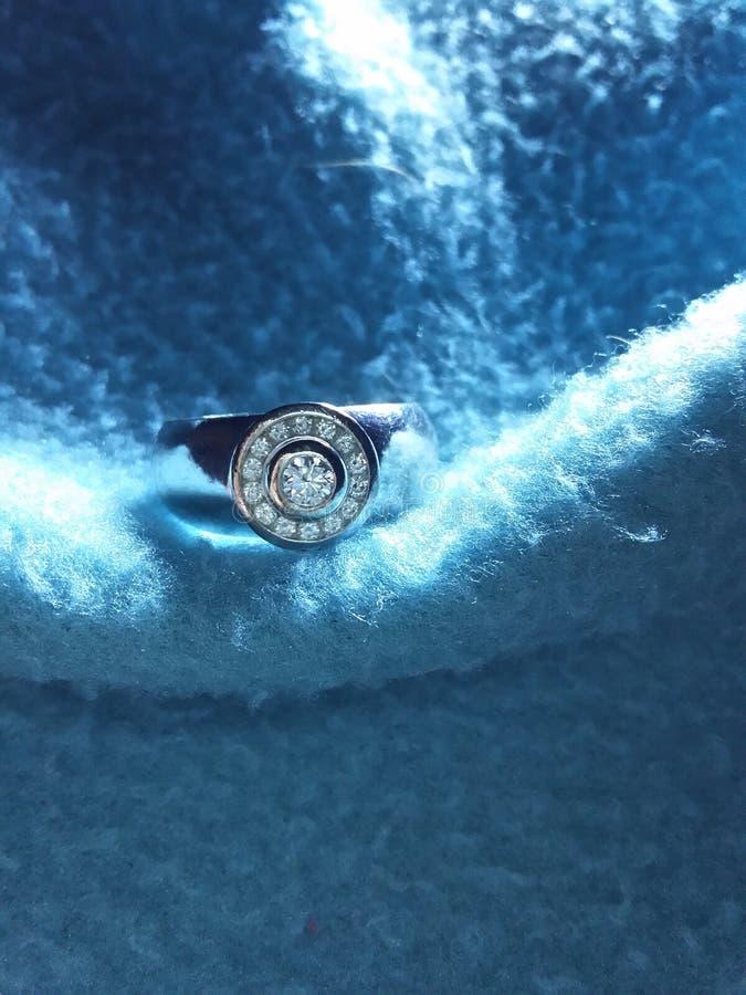 Diamond Ring stock fotografie