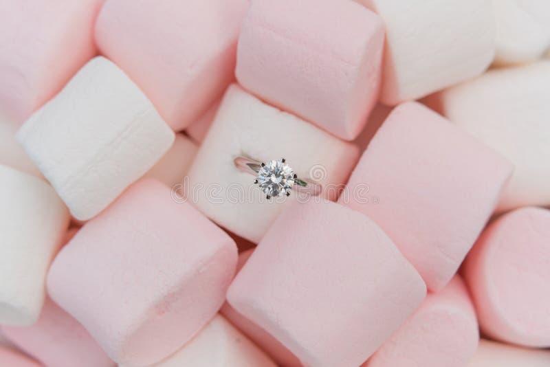 Diamond Ring foto de archivo