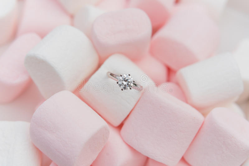 Diamond Ring fotos de stock