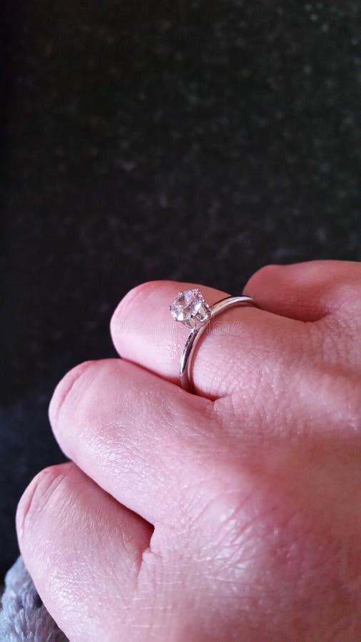 Diamond Ring lizenzfreie stockbilder