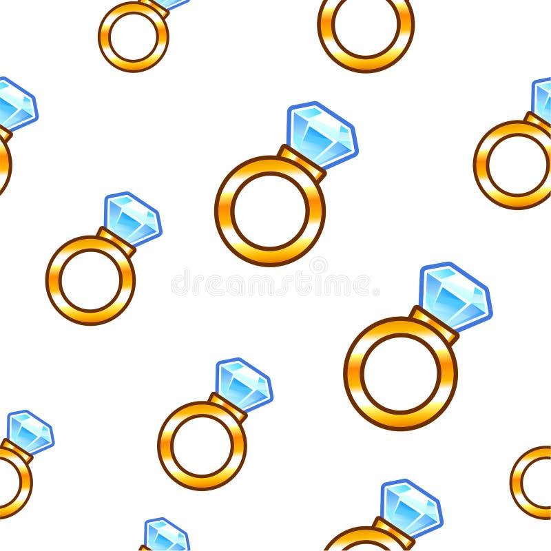 Download Diamond ring background stock vector. Illustration of treasure - 39502218