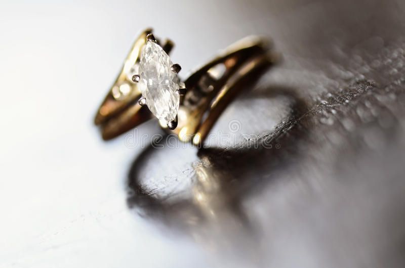 Download Diamond Ring Representing Love And Commitment Stock Photo - Image: 38725690