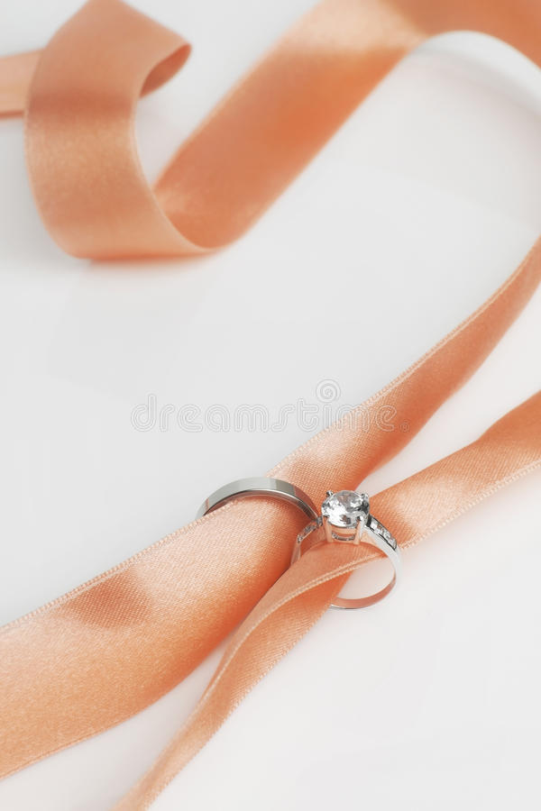 Diamond ring for wedding. Day stock images