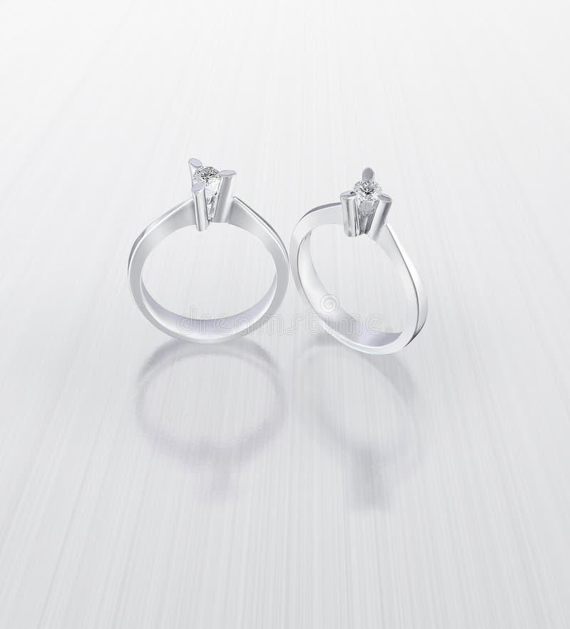 Download Diamond Rings Royalty Free Stock Image - Image: 25782526
