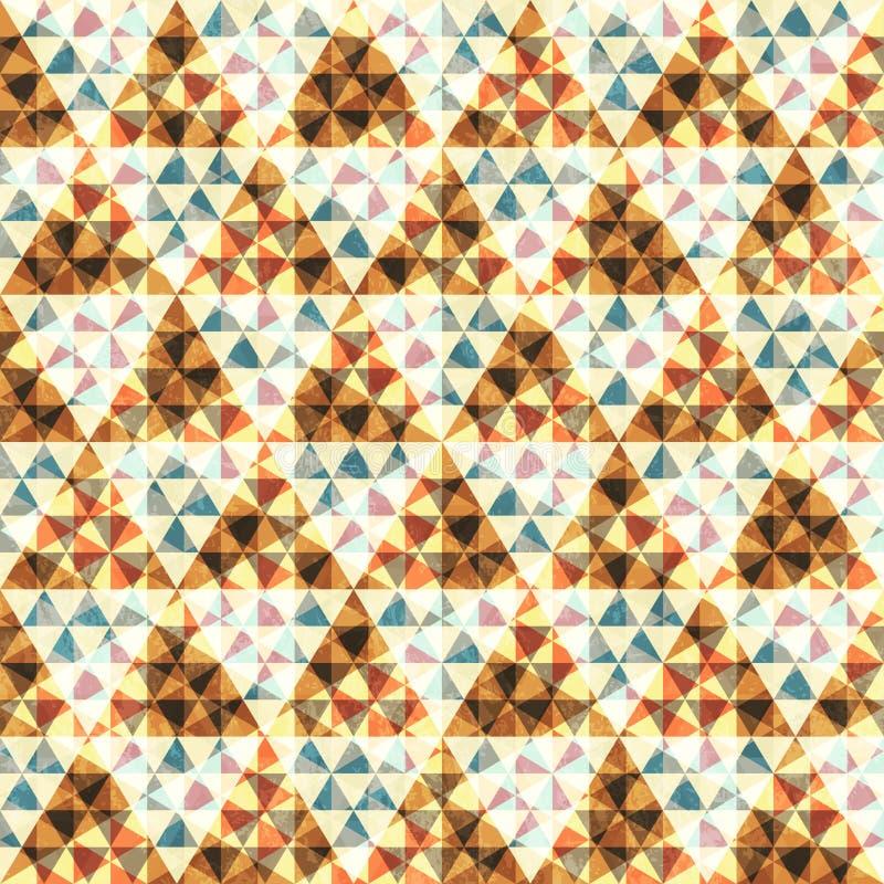 Diamond seamless pattern royalty free illustration