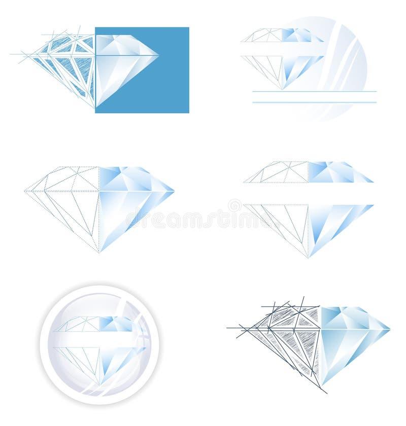 Download Diamond Set stock vector. Illustration of design, luxury - 26854778