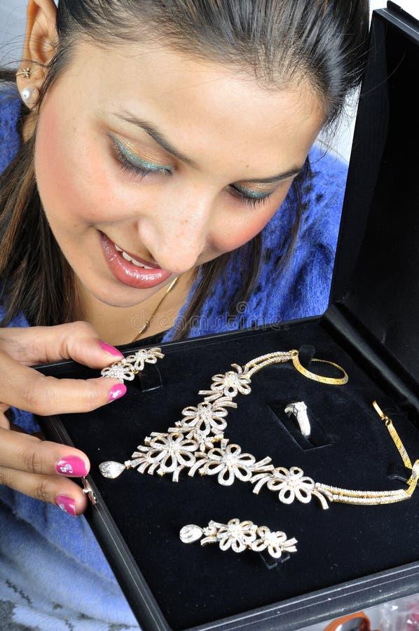 Download Diamond set jewellery stock image. Image of nail, diamond - 13305665