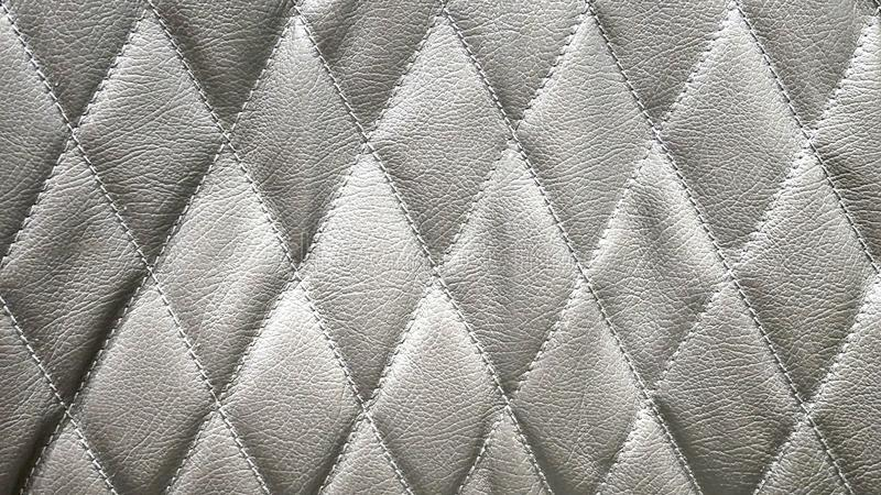 Diamond Shape Leather Pattern fotografía de archivo