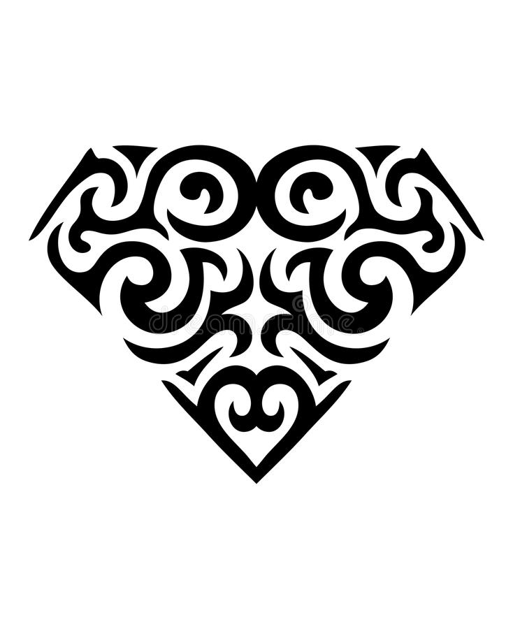 Download Diamond shaped symbol stock vector. Image of inked, symbol - 28101389