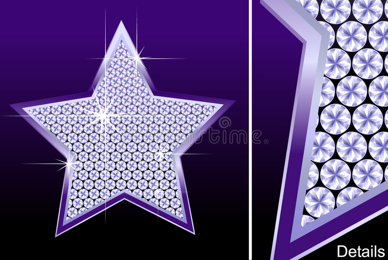Diamond Star Royalty Free Stock Images