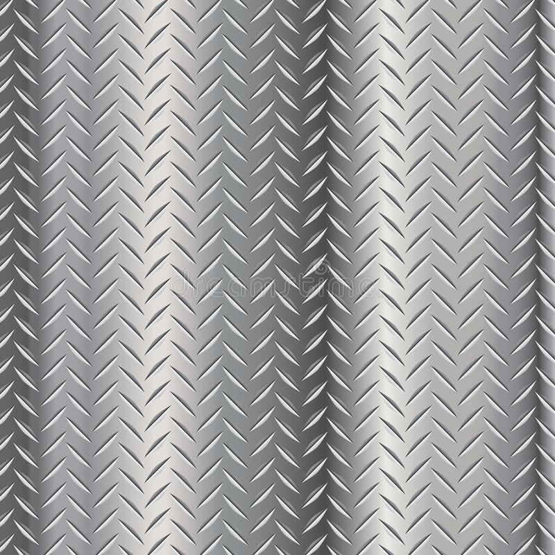 Diamond Steel Plate Royalty Free Stock Photo