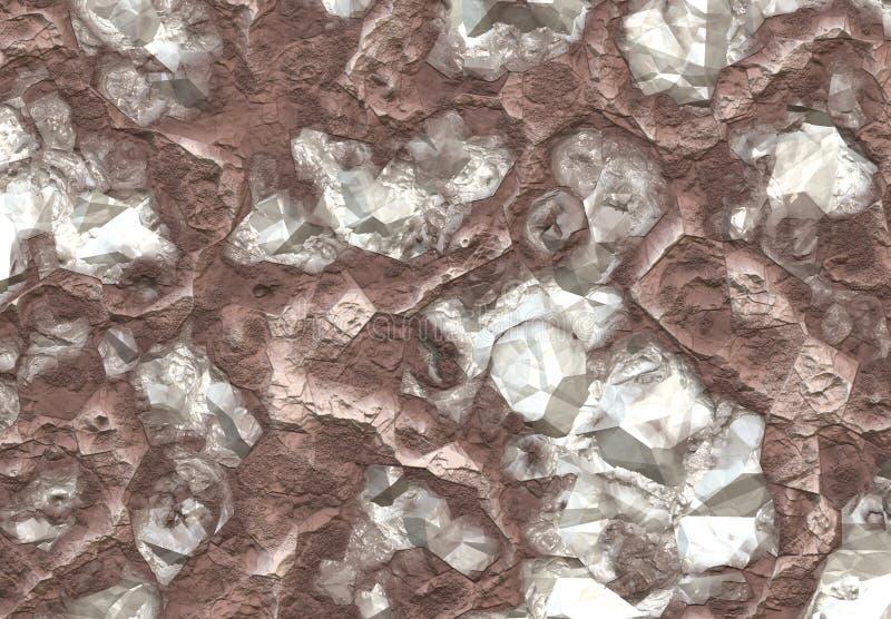 Download Diamond Stones stock illustration. Image of semi, facets - 6910866