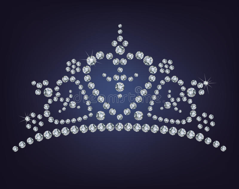 Download Diamond Tiara Royalty Free Stock Images - Image: 24911649