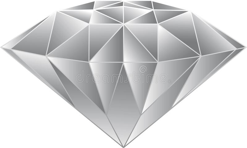 Diamond Vecter vektor illustrationer