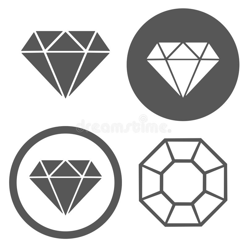 symbol image royalty diamond logo vector shop jewellery blue free