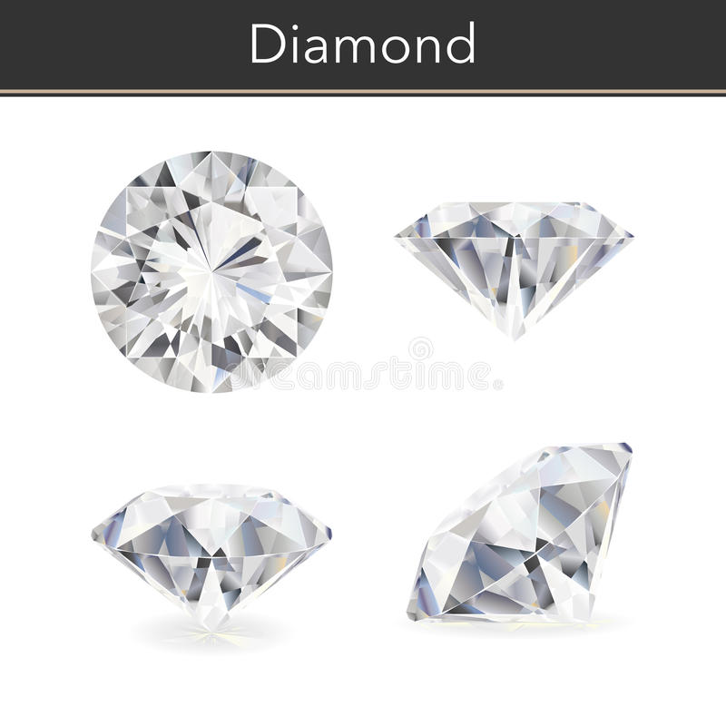 Download Diamond stock vector. Illustration of anniversary, gift - 63071598