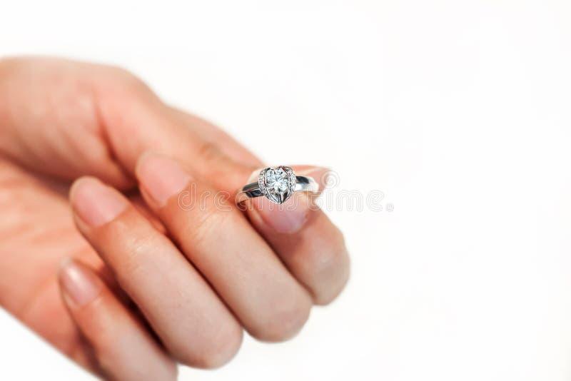 Download Diamond wedding ring stock image. Image of carat, married - 29047551