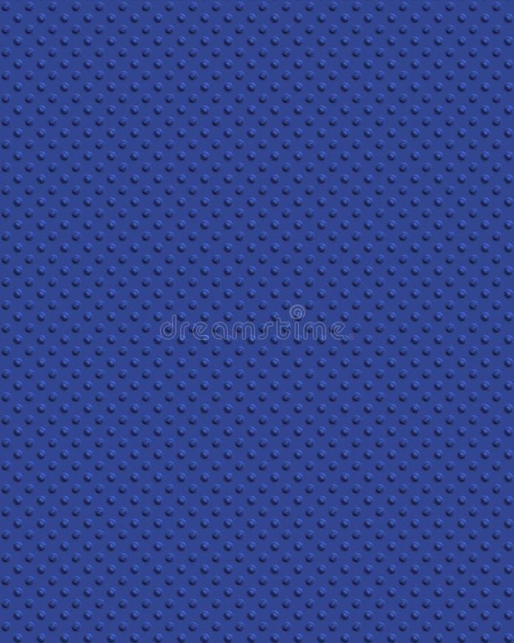 Diamondplate Plástico Azul Imagen de archivo
