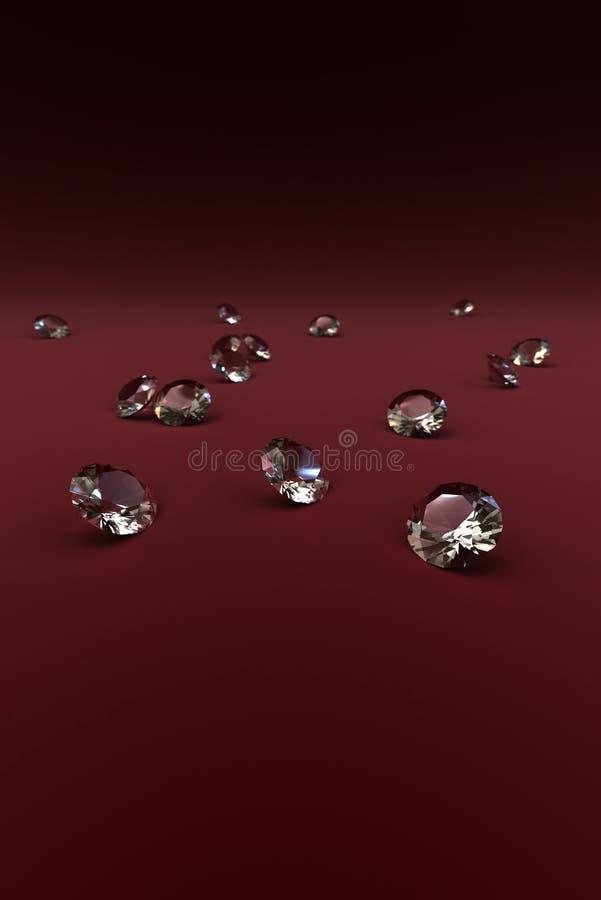 Download Diamonds 3D stock illustration. Image of pretty, woman - 2739428