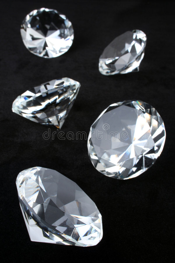Download Diamonds stock image. Image of gemstone, mineral, desirable - 6846757