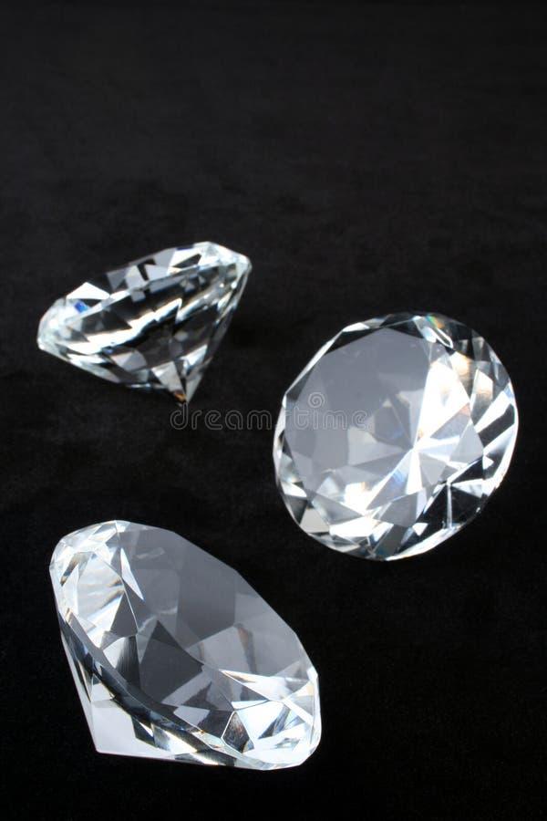 Download Diamonds stock image. Image of black, expensive, close - 7208471
