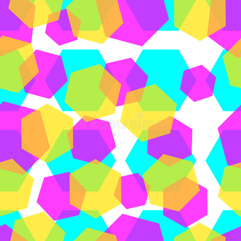 Diamonds color abstract background pattern. stock illustration