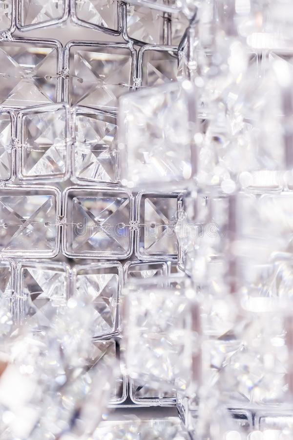 Diamonds and crystals, luxury textured background. Gemstone, jewellery design and luxurious shopping concept - Diamonds and crystals, luxury textured background stock images