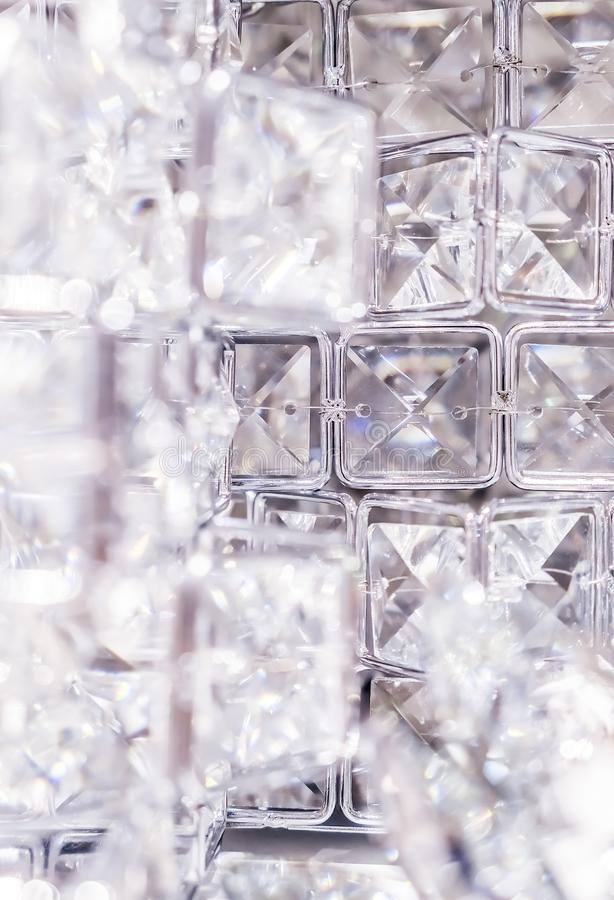 Diamonds and crystals, luxury textured background. Gemstone, jewellery design and luxurious shopping concept - Diamonds and crystals, luxury textured background stock photo