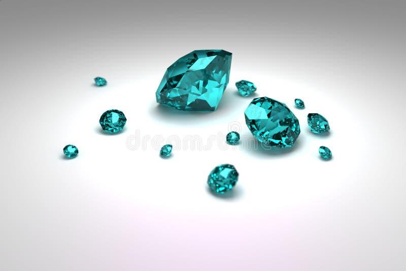 Diamonds Stock Illustration