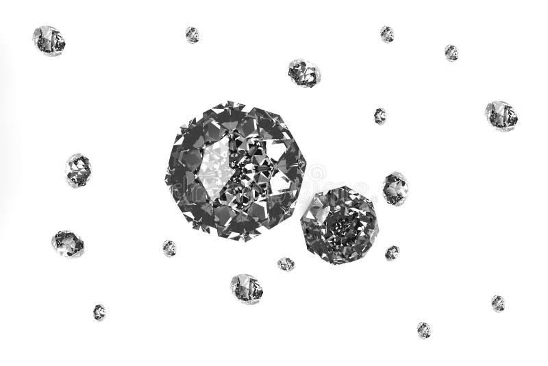Download Diamonds stock illustration. Illustration of facet, crystal - 40425863