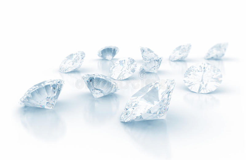 Diamonds royalty free stock image