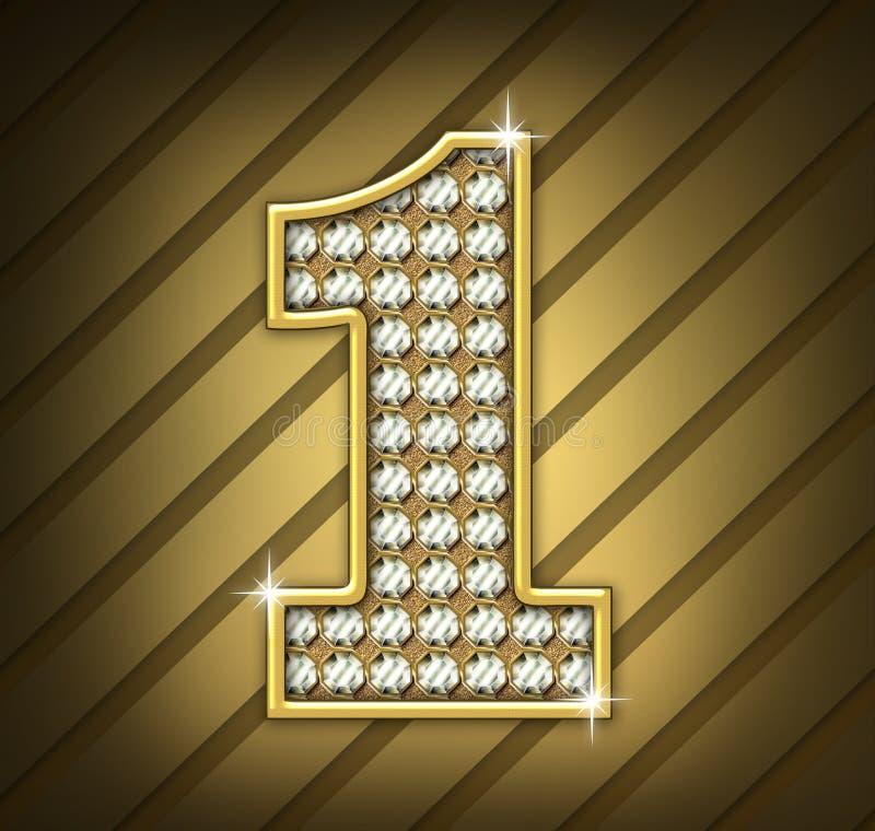 Diamonds Nº1 royalty free illustration