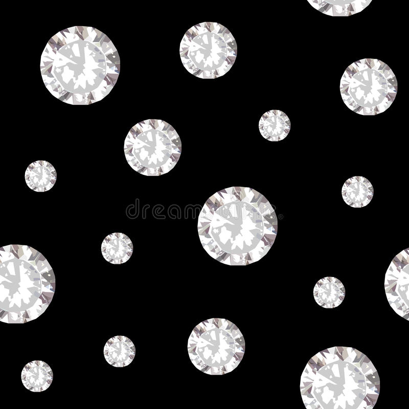 Diamonds seamless pattern background royalty free stock photography