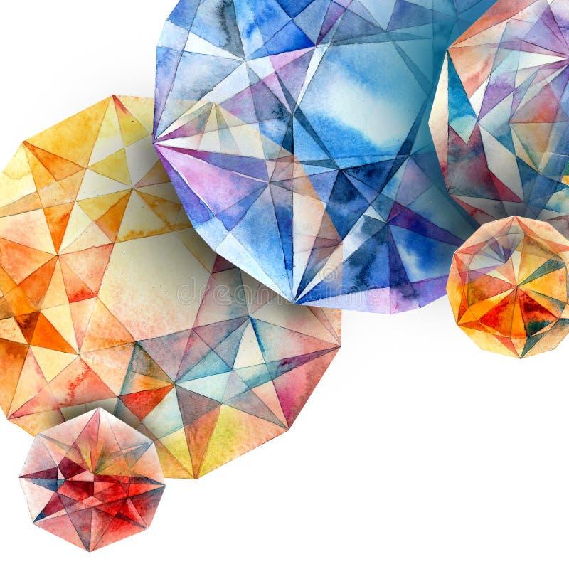 Diamonds. royalty free illustration