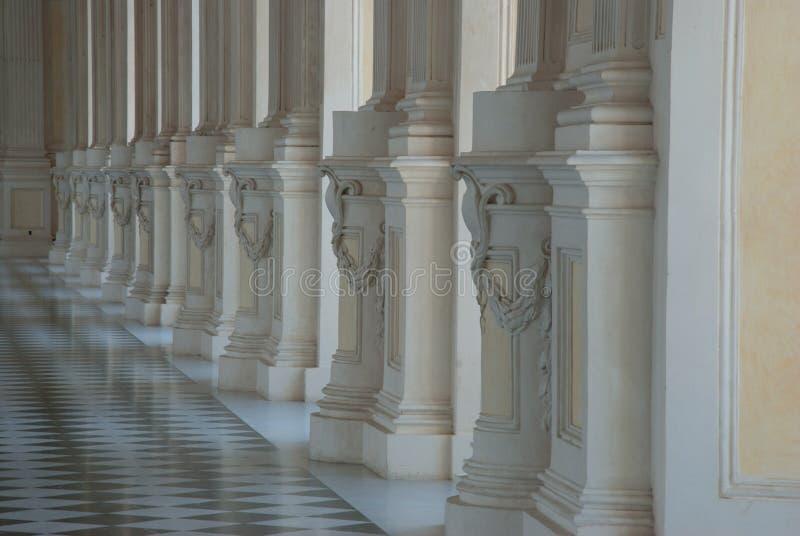 Diana& x27; галерея s в Venaria стоковое изображение rf