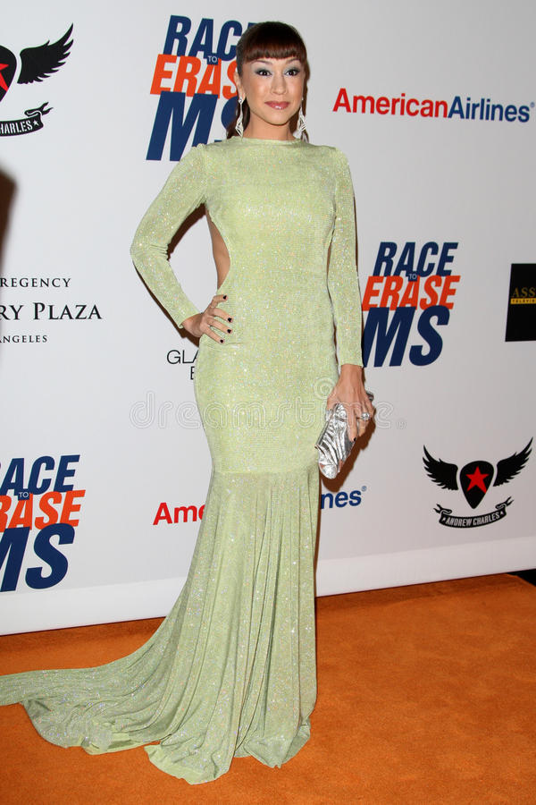 Download Diana DeGarmo Arrives At The 19th Annual Race To Erase MS Gala Editorial Stock Image - Image: 25274899