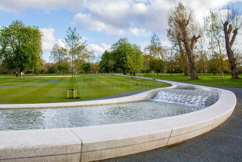 Diana Memorial Fountain arkivbild