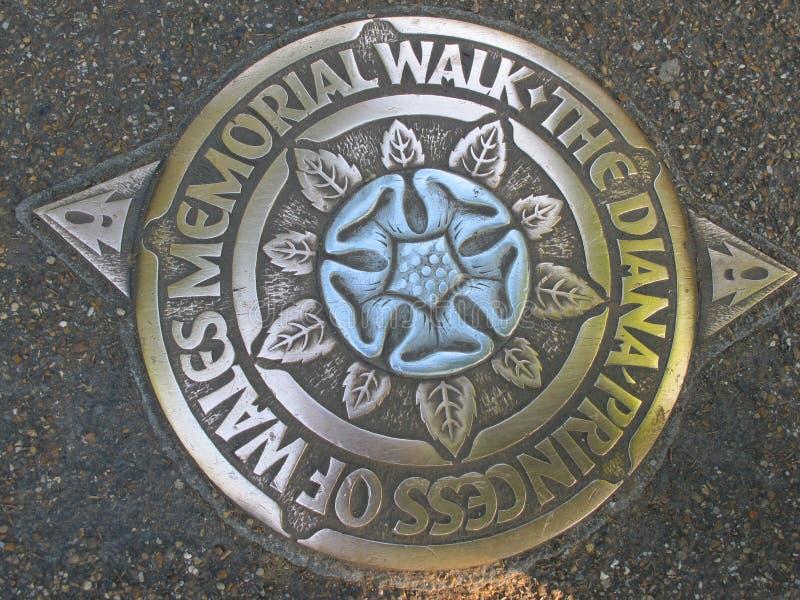 Diana, paseo conmemorativo de la Princesa de Gales, Hyde Park, Londres imagenes de archivo