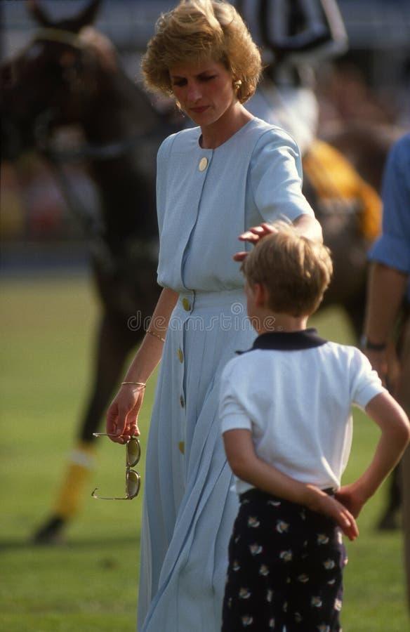 Diana prinsessa av Wales royaltyfri bild