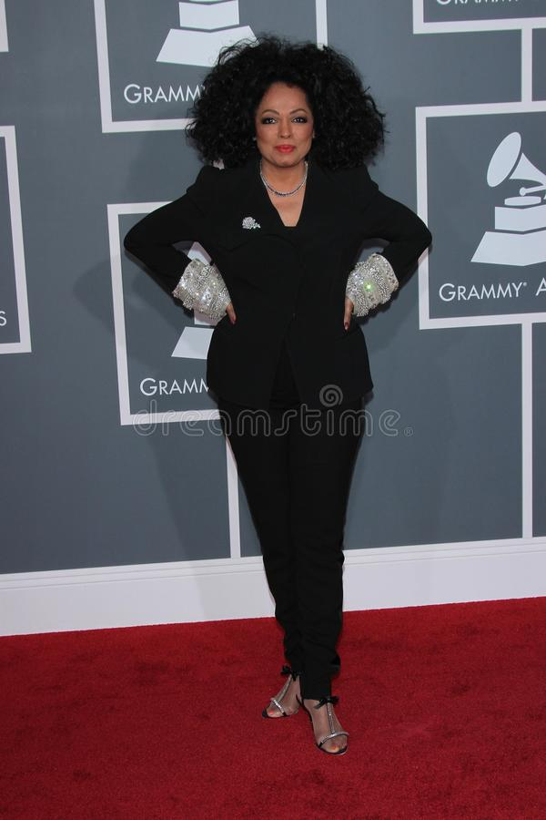 Diana Ross immagine stock