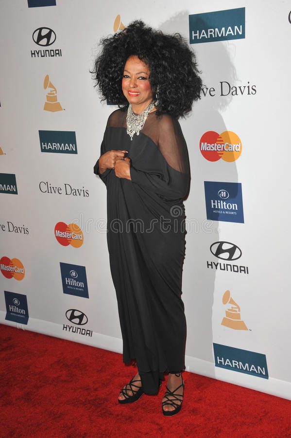 Diana Ross stock fotografie