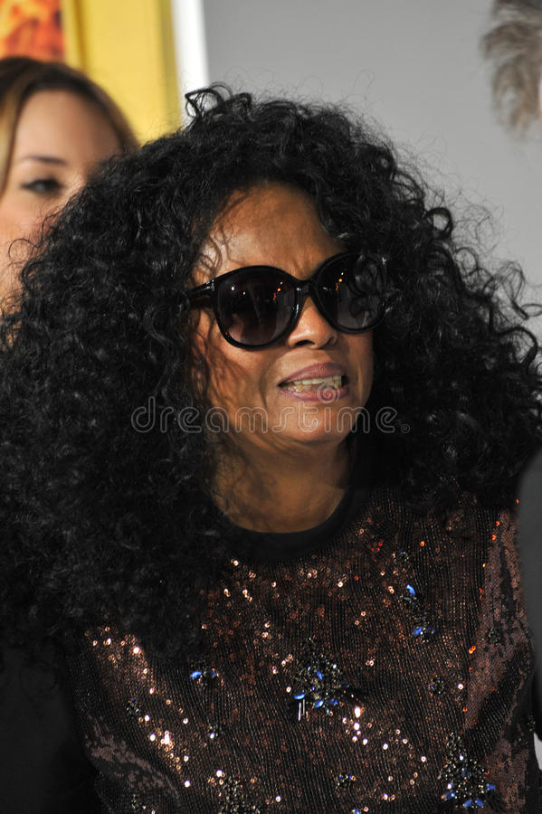 Diana Ross stock foto