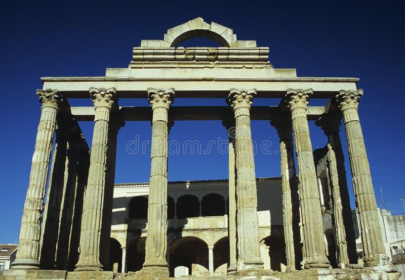 diana s tempel arkivfoto