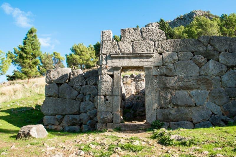 Diana tempel royaltyfri foto