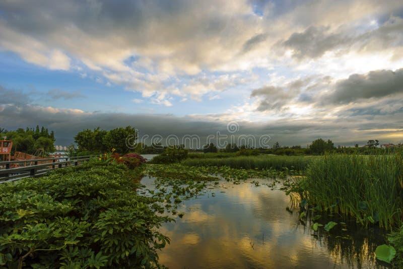DianChi Yunnan image stock
