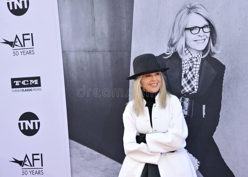 Diane Keaton stock image