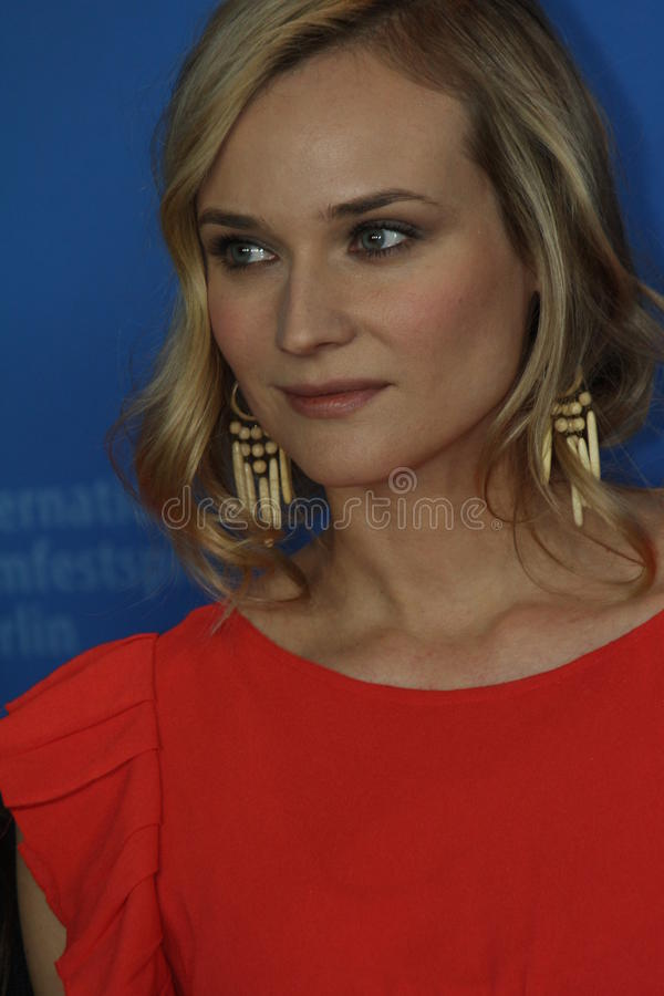 Diane Kruger. BERLIN, GERMANY - FEBRUARY 18: Actress Diane Kruger attends the 'Unknown' (Unknown Identity) Photocall during of the 61 Berlin Festival at the stock photo