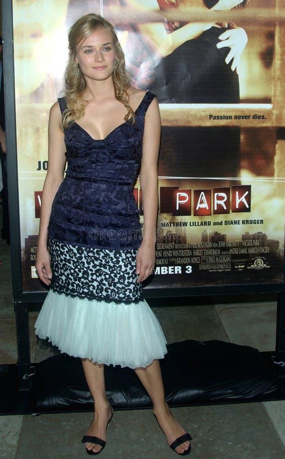 Diane Kruger zdjęcia stock